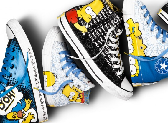 CHUCK TAYLOR'S SPECIAL ADDITION BART SIMPSON COLLECTION